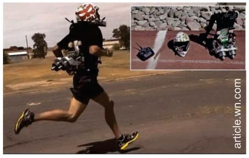 Jetpack para corredores os fará correr 1,6 km em quatro minutos