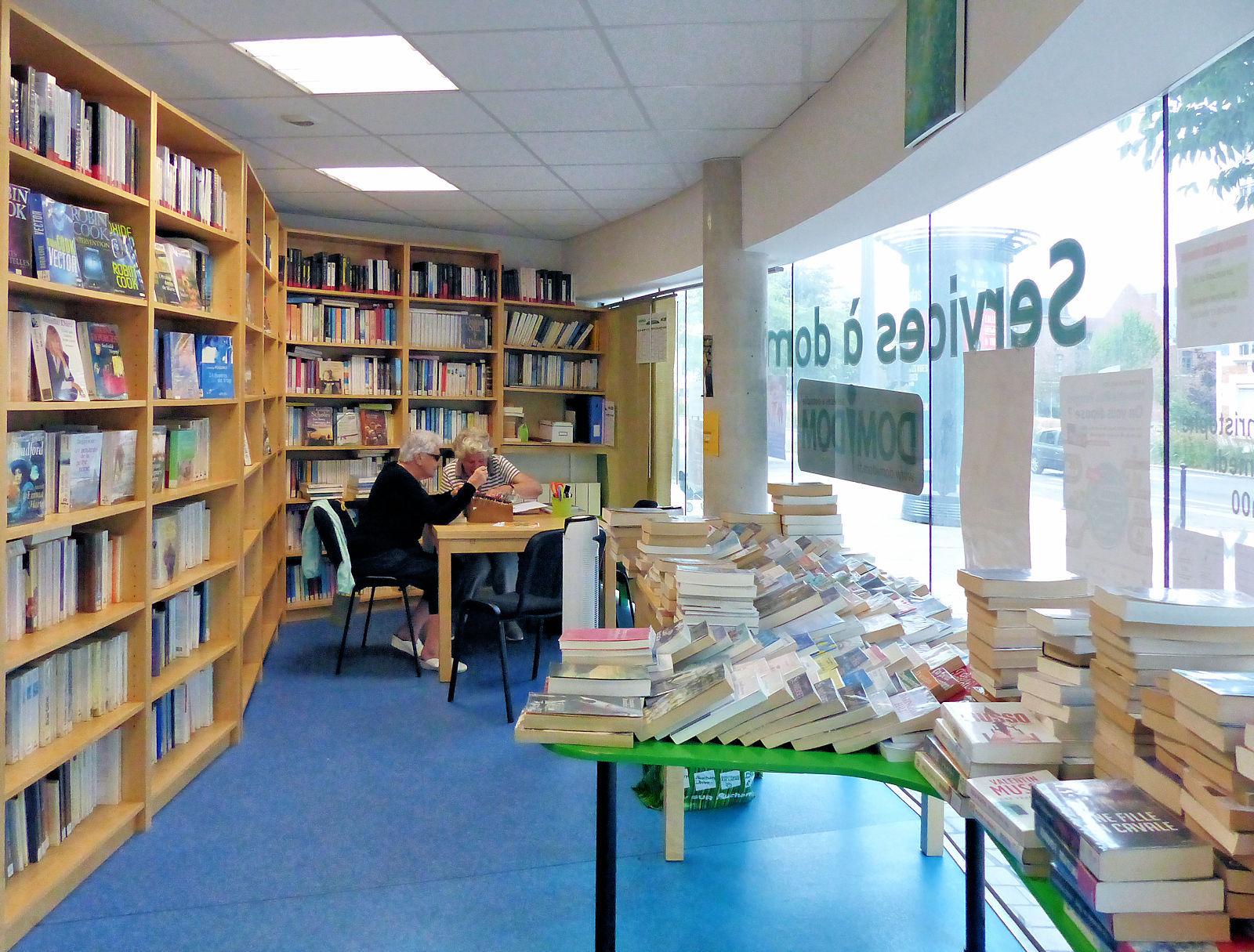 Bibliothèque Saint-Christophe Tourcoing - Les bibliothécaires