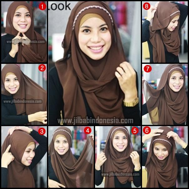 Best 7+ Cara Pakai Shawl Pashmina Chiffon Terkini