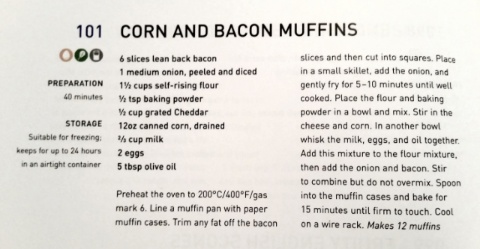 bacon and corn muffin recipe