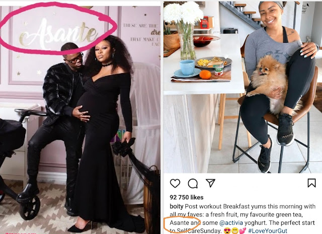 DJ Zinhle's Baby Shares A Name With Boity's