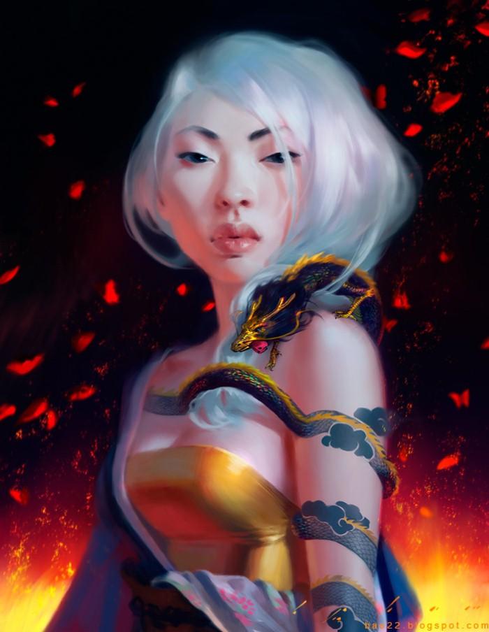 Bao Pham. Цифровая живопись 23