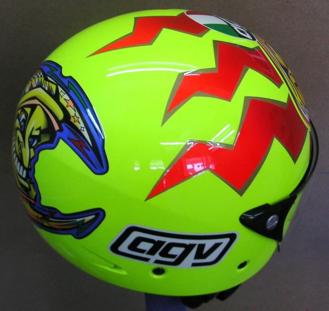 Repair On Agv Open Face Helmet 153 Hand Painted Helmets