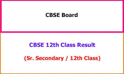 CBSE 12th Class Exam Result