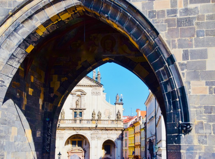 #15 of 20 pretty archways around the world; this one spotted in Prague.| Ms. Toody Goo Shoes