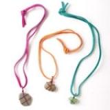 Rock Necklaces - Step 1
