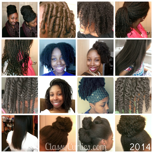 Natural Hair: Hairstyles of 2014