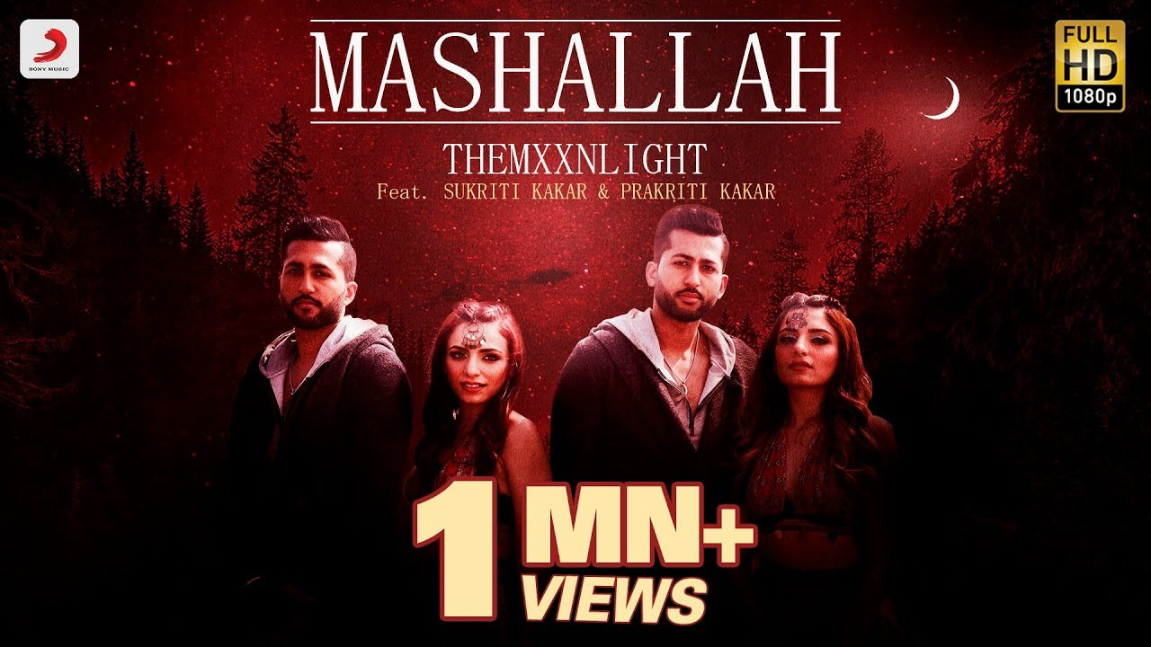 MASHALLAH LYRICS - THEMXXNLIGHT ft Sukriti Kakar | Lyrics Over A2z