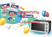Logo Concorso Paneangeli ''Dolci in forno'': vinci 300 Sfornatutto De'Longhi