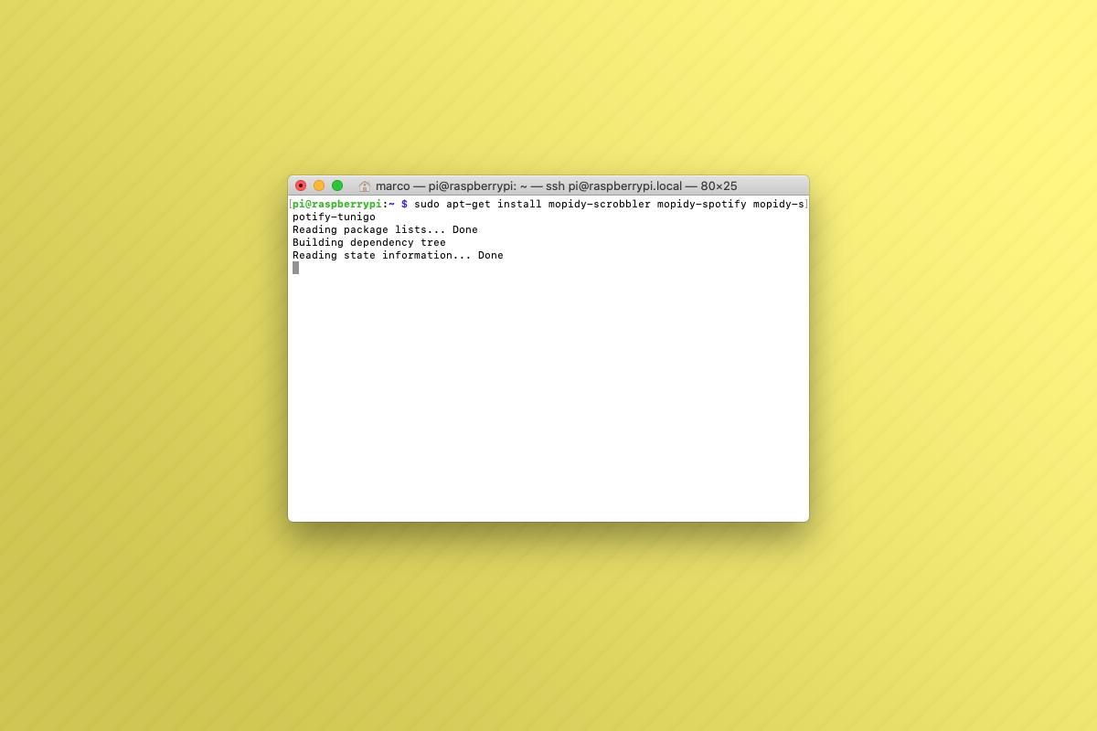 Come installare Mopidy su Raspberry Pi