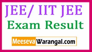 JEE Advanced 2017 Results - IIT JEE Adv Results 2017