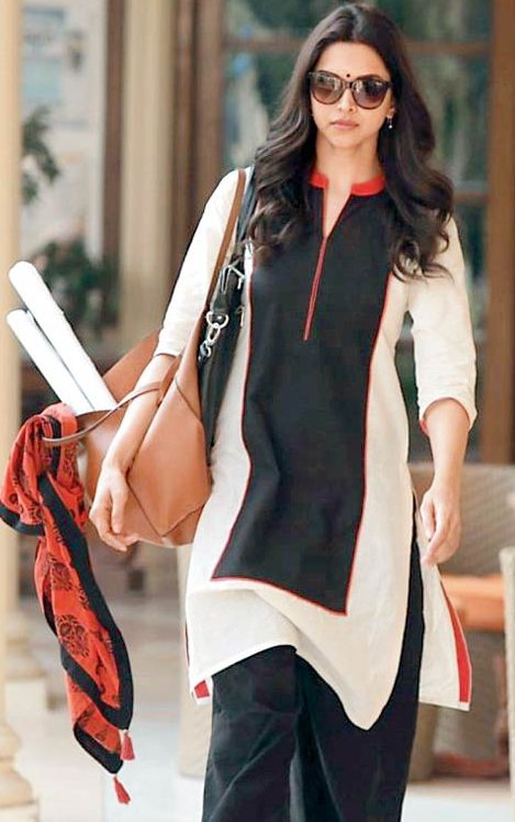 Dress No. 15 - Deepika's Kurta from Piku