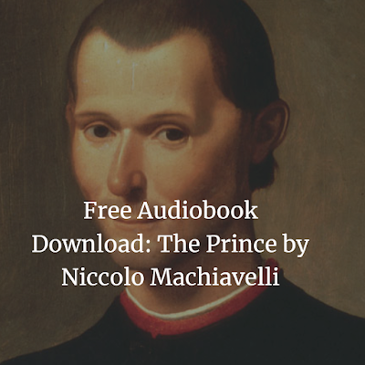Free Audiobook Download: The Prince by Niccolo Machiavelli
