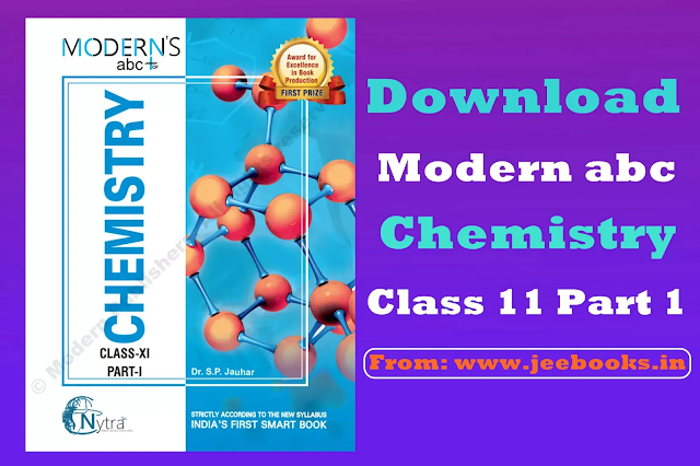 Download Modern ABC Chemistry for Class 11 (Part I) PDF Link 2021