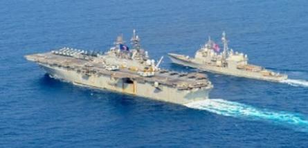 China Dirikan Distrik di Laut China Selatan, AS Kerahkan Dua Kapal Perang