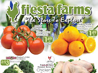 Fiesta Farms Flyer Weekly Specials valid March 10 - 16, 2018