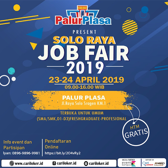 Job Fair Solo Raya 2019