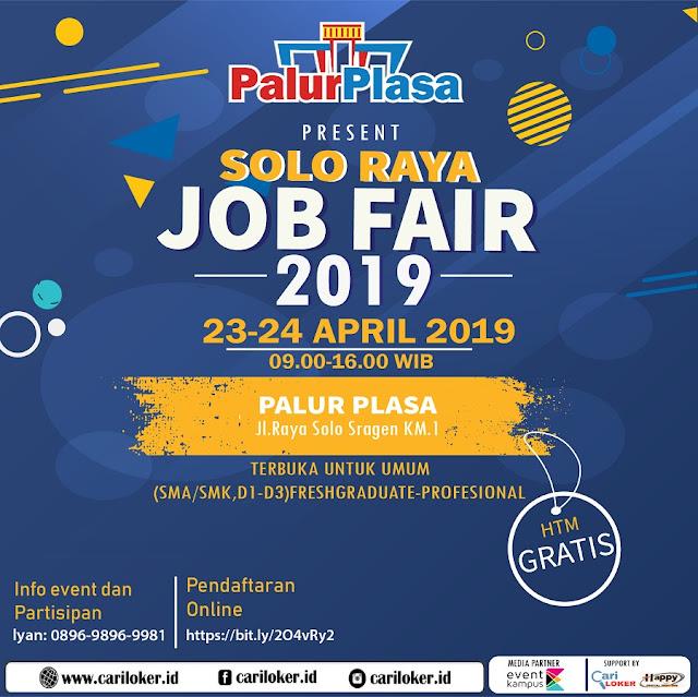 Job Fair Solo Raya 2019
