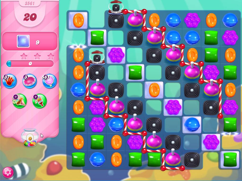 Candy Crush Saga level 3561
