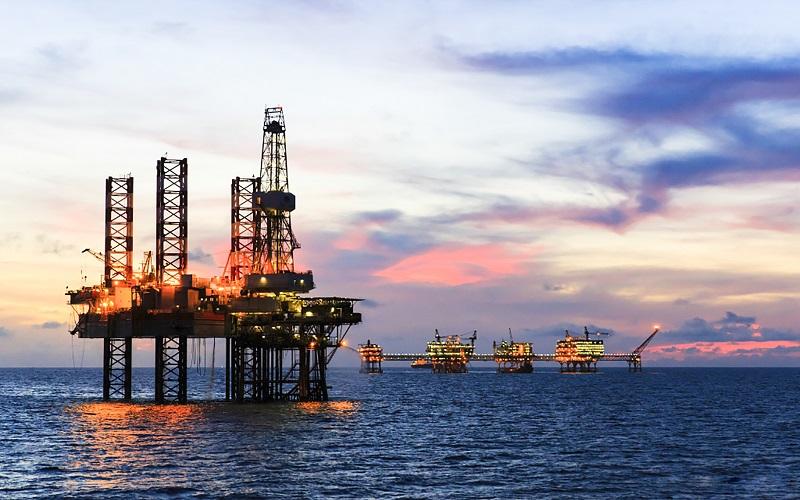 Giàn khai thác dầu khí của Liên doanh Việt – Nga Vietsovpetro.