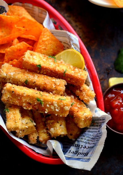 Tofu Sticks and Chips