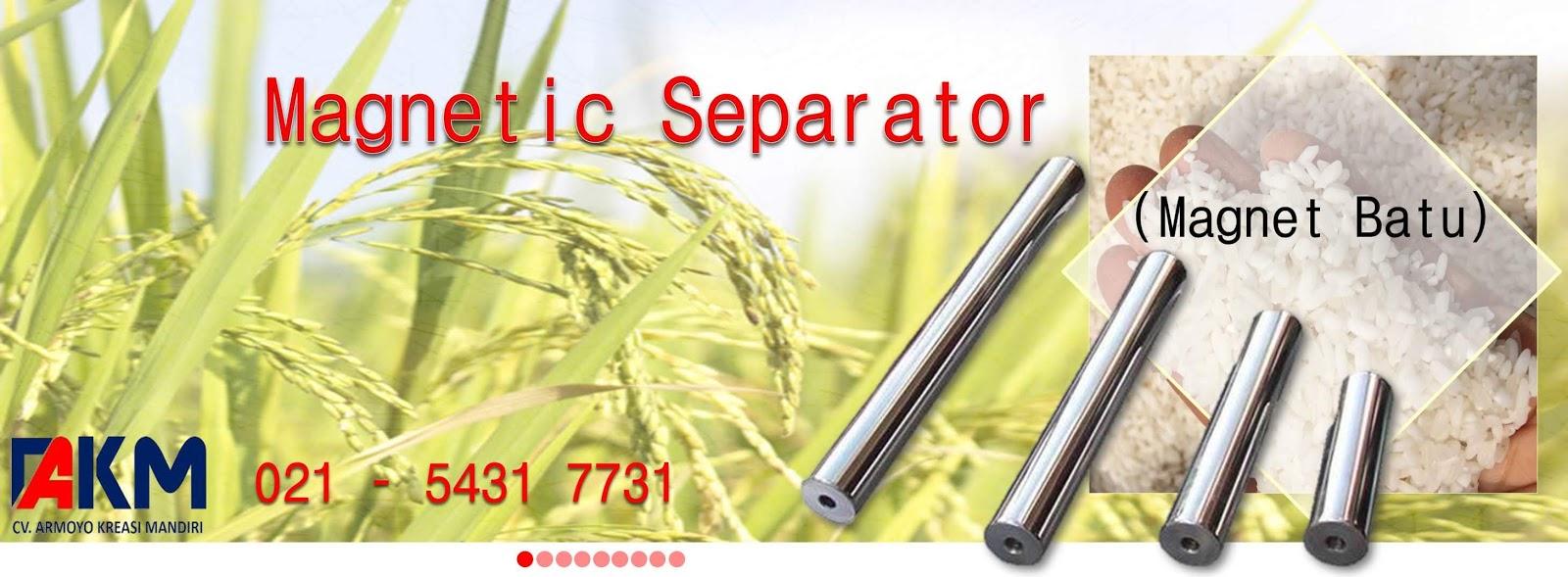 magnetic separator untuk Beras