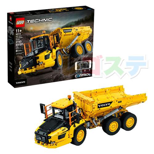 レゴ(LEGO)テクニック 6×6 ボルボ アーティキュレート式ダンプトラック 42114