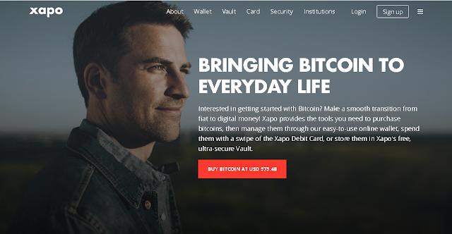 Xapo procesador de pagos de Bitcoin (e-Wallet)