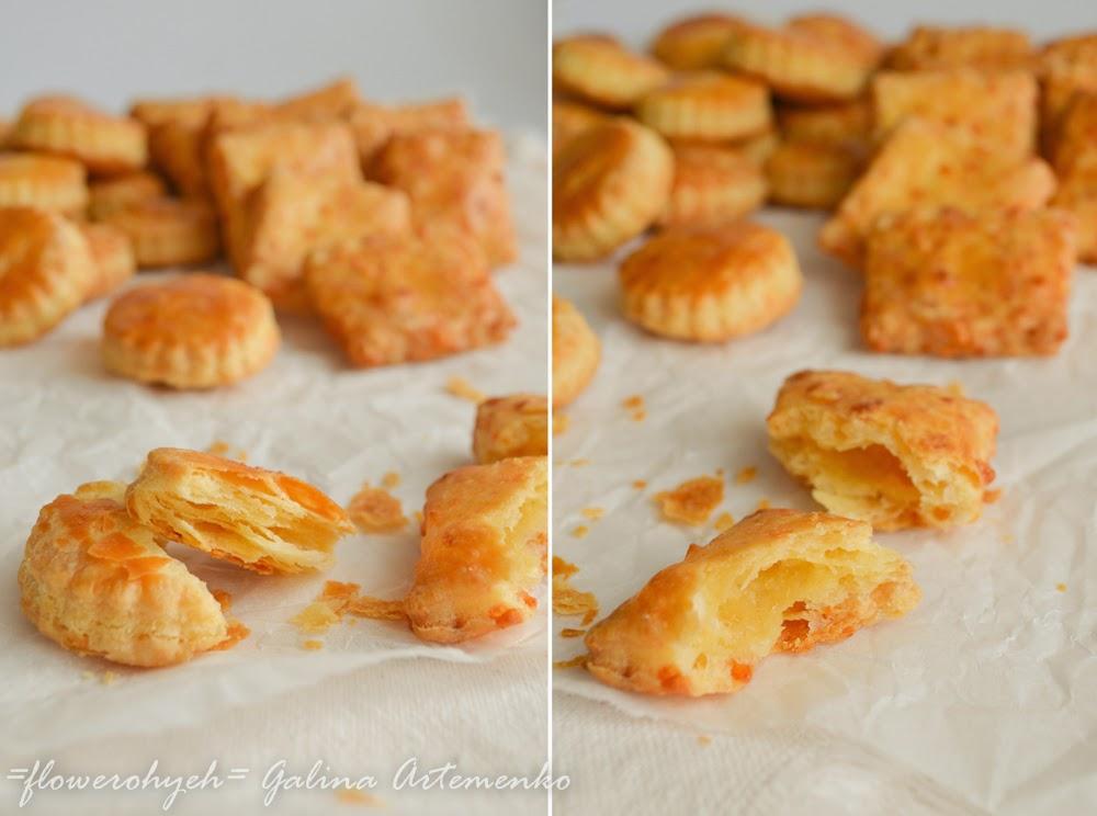 рецепты печенье из твердого сыра