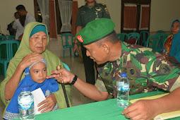 Korem 162/WB Bersama Yayasan Smile Train Indonesia Gelar Operasi Bibir Sumbing