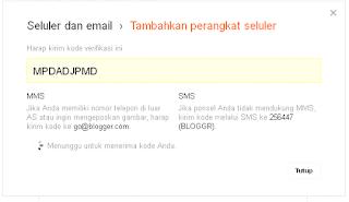 Langkah-Langkah menulis Post/Artikel Mengunakan SMS/MMS