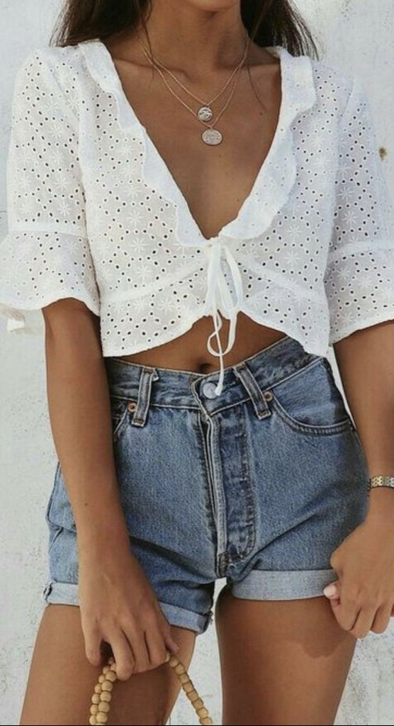 31 Cute Dresses For Teens To Try As Soon As Possible: 31 Cute And Cool Summer Outfit Ideas To Copy