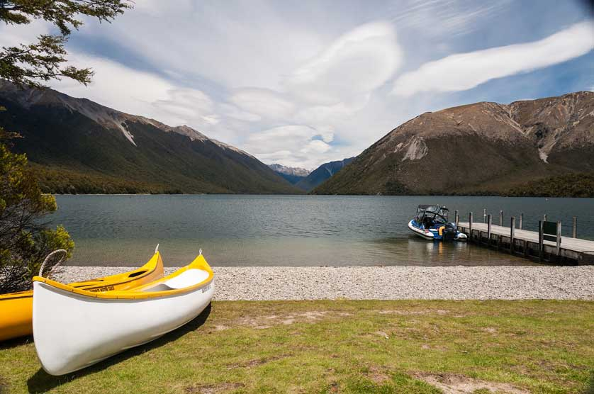 Nelson Lakes National Park.