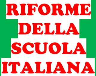 RIFORME DELLA SCUOLA ITALIANA - Riforma Gelmini