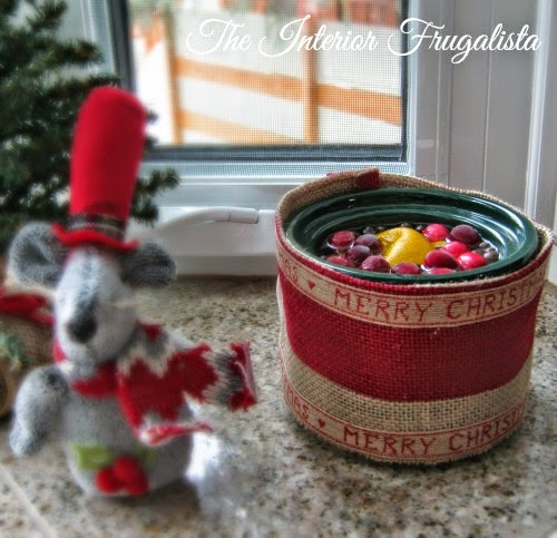 Festive Mini Crockpot Sleeve