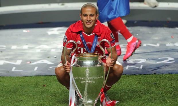Liverpool finally agree £25m fee to sign Thiago Alcântara from Bayern Munich