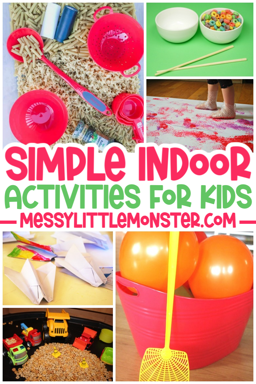 simple indoor activities for kids