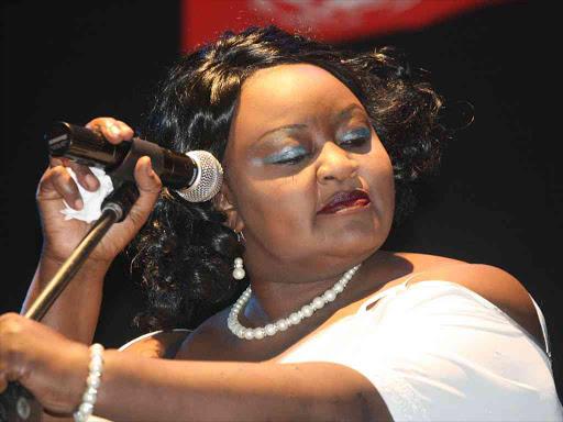 Singer Achieng Abura's son Prince is dead photo