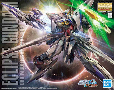 MG 1/100 Gundam Eclipse Official Images