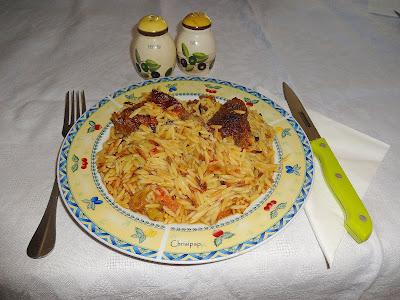Μοσχαράκι με μανέστρα στο φούρνο
