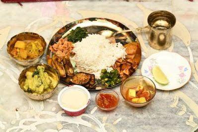 Bengali Annaprashan or Mukhebhaat