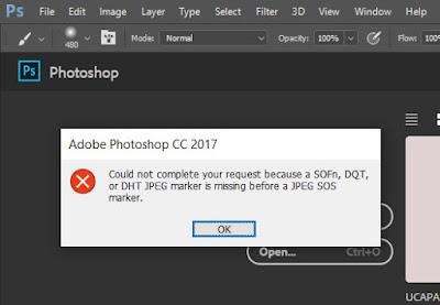 Solusi Gambar dari Whatsapp Tidak Bisa Dibuka di Photoshop