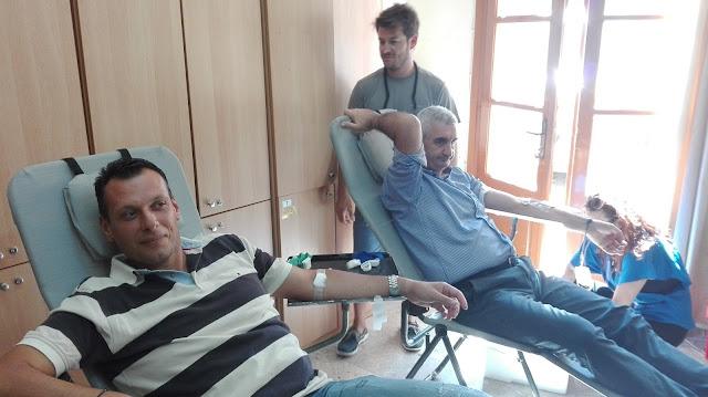 Επιτυχής εθελοντική αιμοδοσία στο Λιμεναρχείο Ναυπλίου