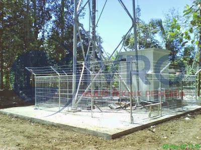 Produksi Pagar Tower BTS