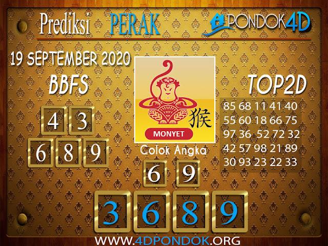 Prediksi Togel PERAK PONDOK4D 19 SEPTEMBER 2020