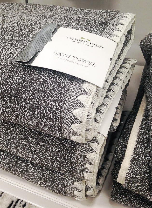 Threshold bath towels