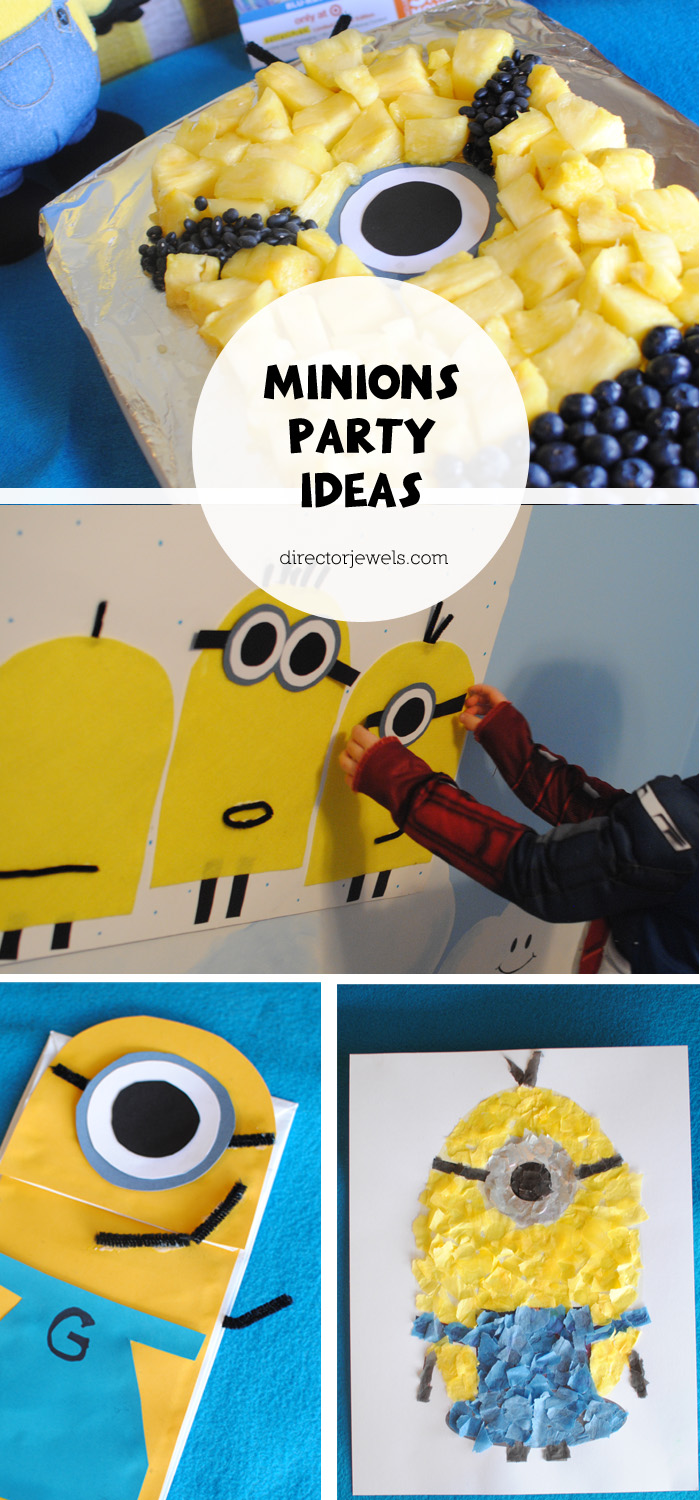 Minions Party Ideas | Minions Despicable Me Party Ideas at directorjewels.com