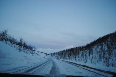 ナルヴィクというノルウェーの街までドライブ1