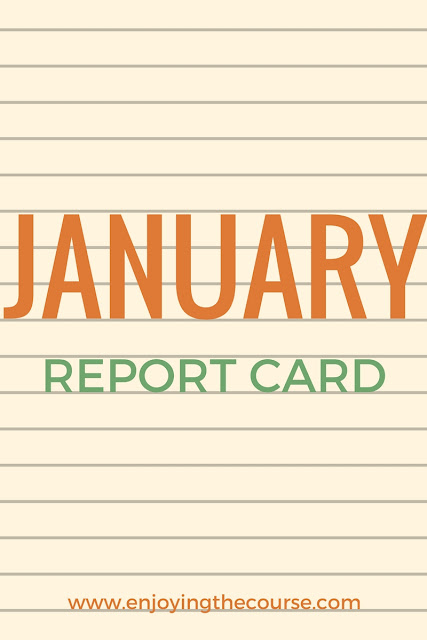 January Report Card