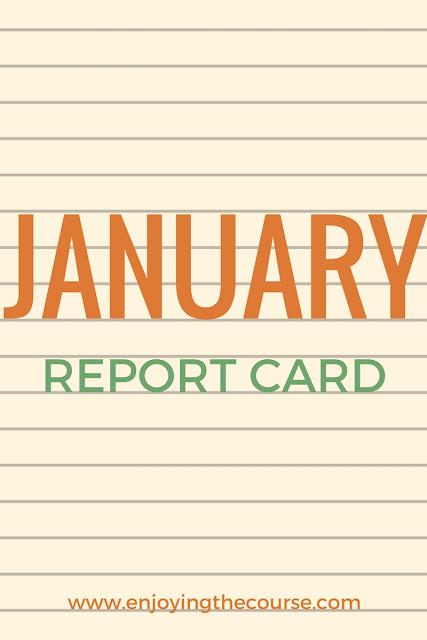January Report Card